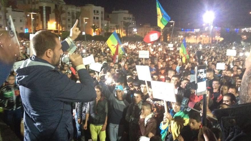 Nasser Zafzafi, la cabeza visble del movimiento en Alhucemas | Elena González