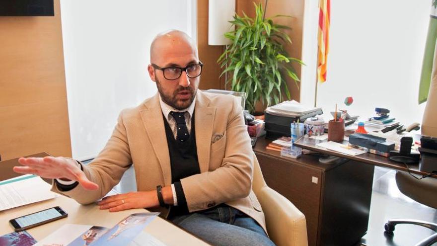 El alcalde de Lloret de Mar, Jaume Dulsat.