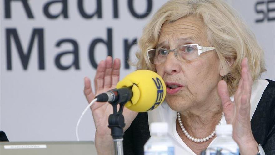 """Carmena no ve """"necesaria"""" la presencia de policía municipal en los desahucios"""