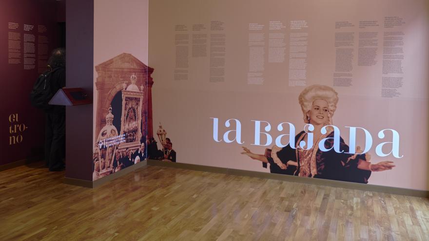 En la imagen, interior del Centro de La Bajada.