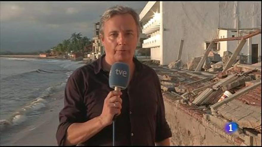 El corresponsal de TVE Vicenç Sanclemente.
