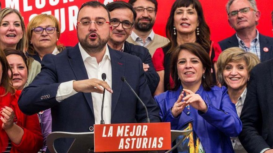 El PSOE amplía su mayoría para seguir gobernando en Asturias