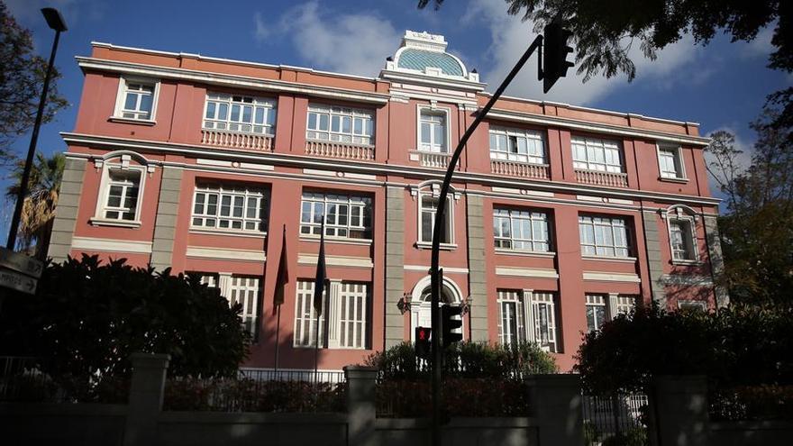 Consejería de Sanidad del Gobierno de Canarias, en su sede de Santa Cruz de Tenerife
