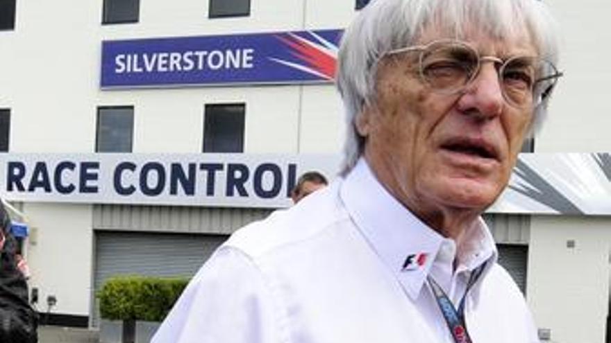 Ecclestone niega haber dado un plazo extra a Donington y asegura que están incumpliendo el contrato