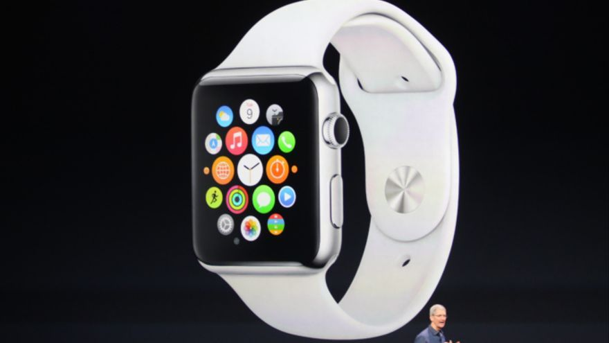 Apple presenta su reloj inteligente