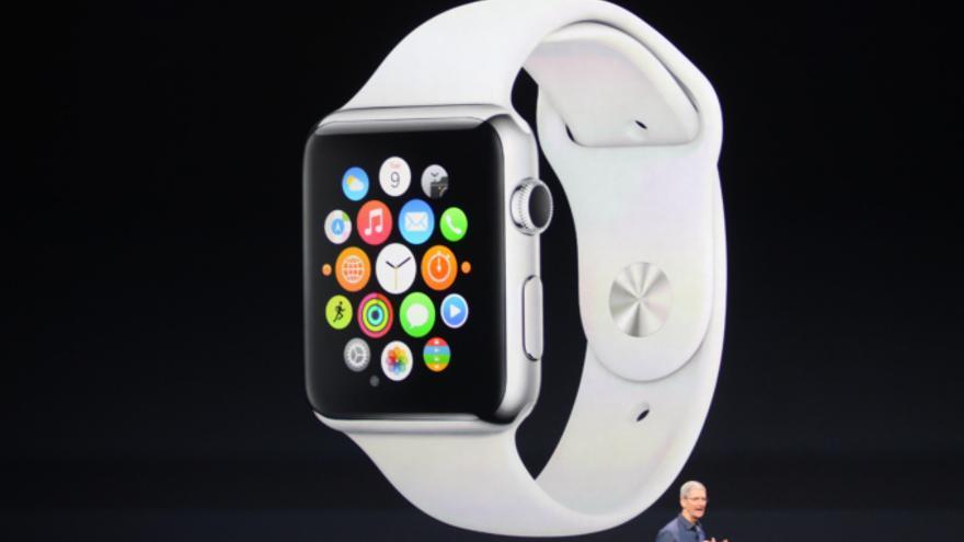 Apple presenta su reloj inteligente