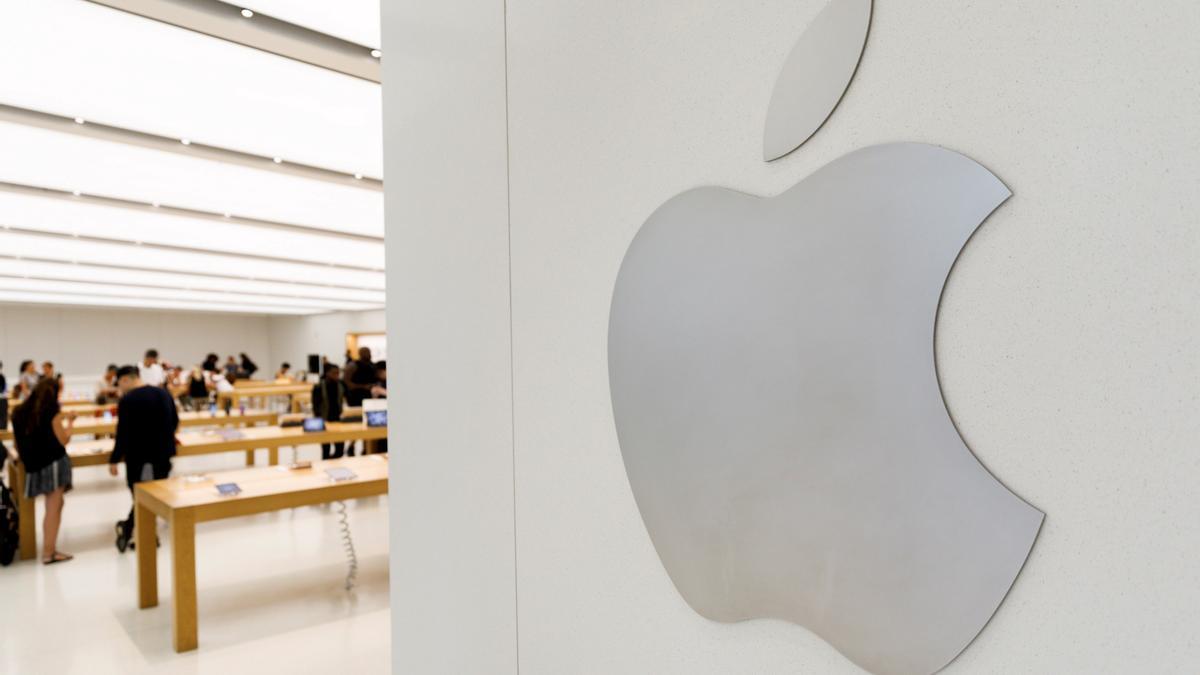 Una tienda de Apple.