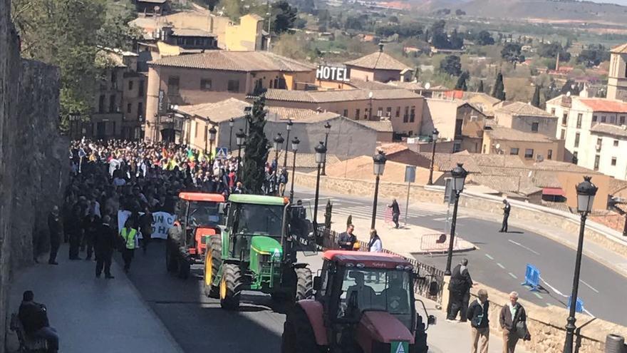 Manifestación Asaja Toledo