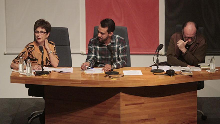 Mesa redonda de la Uned sobre la obra del escritor. Foto: Felipe de la Cruz.