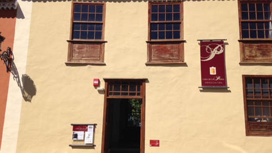 Fachada de la propiedad municipal Casa de la Parra, en Los Realejos