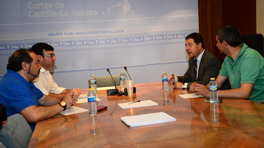 García-Page contará con la opinión de IU para modificar la Ley Electoral de Castilla-La Mancha