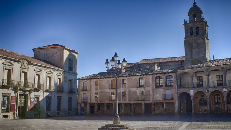 Plaza Mayor en El Burgo de Osma. M.Peinado