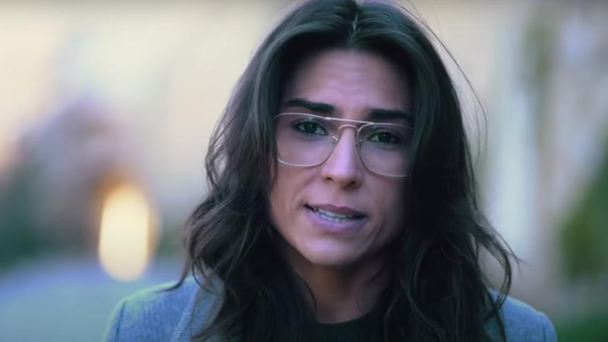 Un fotograma del vídeo protagonizado por Tatiana Ballesteros