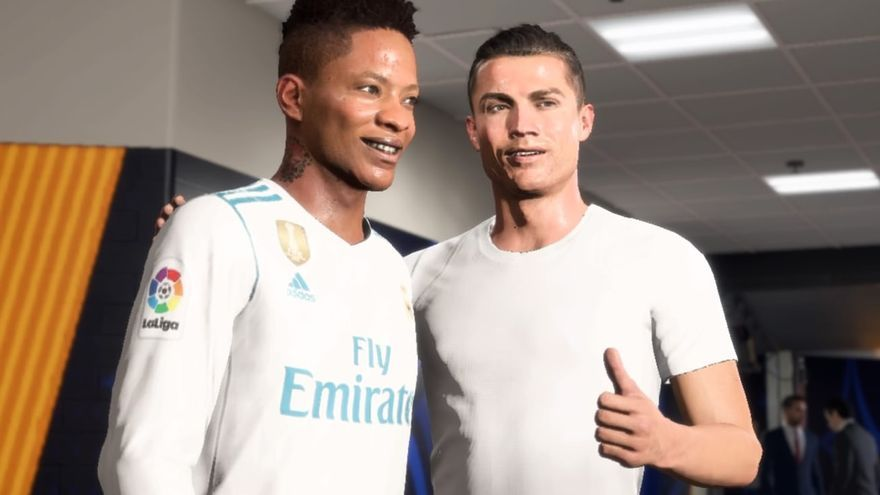 Alex Hunter y CR7