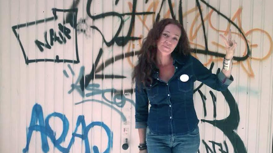 La activista social y portavoz de la PAH en Tenerife, Inma Évora, es candidata para la capital tinerfeña con Participa Santa Cruz.