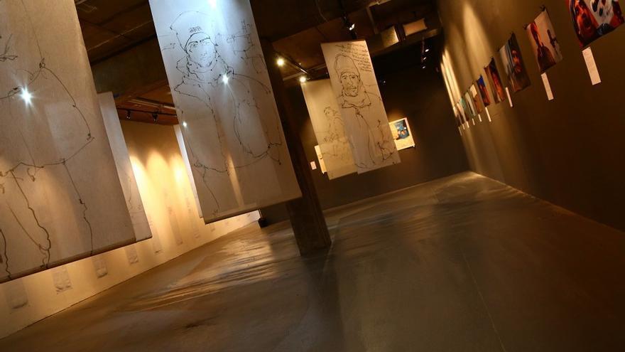 La 'galería de la identidad' del Museo de las Migraciones.