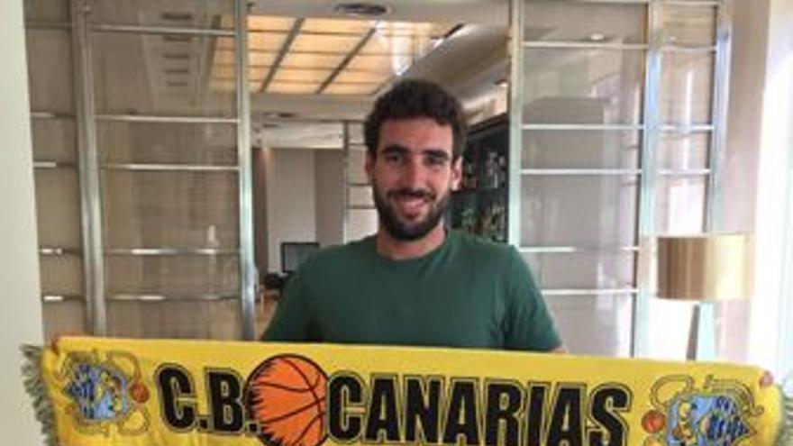 El base catalán de 24 años Ferrán Bassas (CBCanarias)