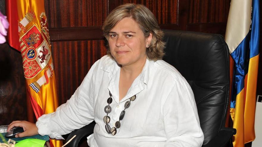 Noelia García Leal, portavoz del PP en el Ayuntamiento de Los Llanos de Aridane