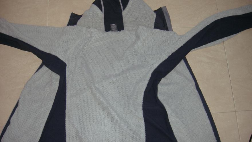 Interior de la chaqueta.