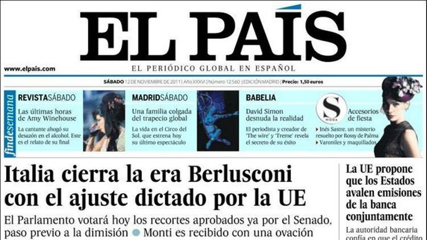 De las portadas del día (12/11/2011) #8