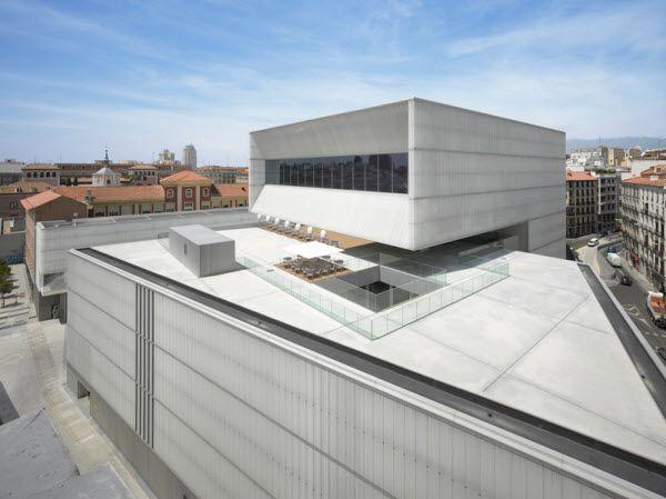 Zona de ocio de la azotea del CDM de Barceló | Imagen: Forus
