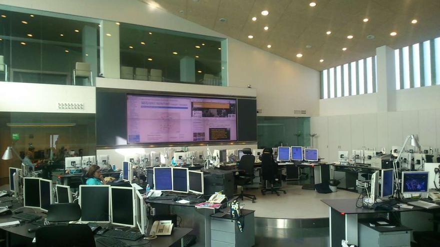 Instalaciones del Centro de Atención de Urgencias y Emergencias 112 Extremadura.