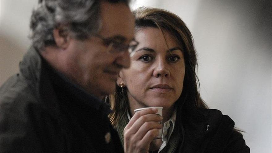 """Afines a Cospedal critican que el PP no haya salido a defenderla dejándola """"sola"""""""