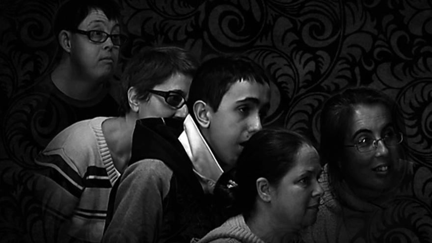 Cartel promocional de la película Máscaras