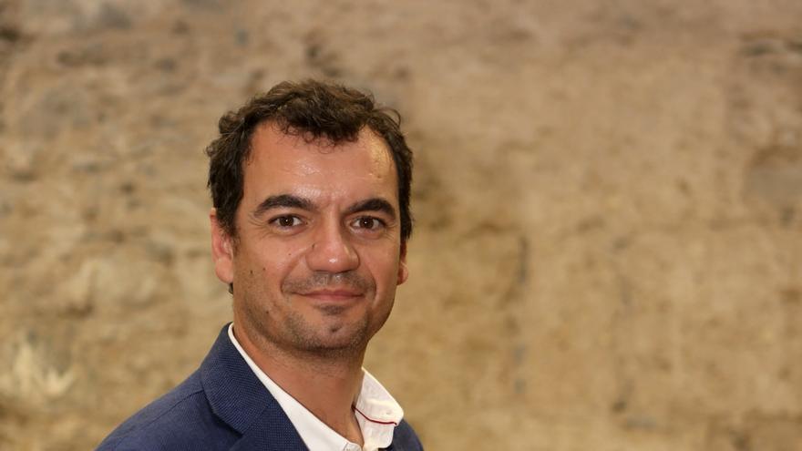 El candidato de Ciudadanos al Congreso de los Diputados por Las Palmas, Saúl Ramírez.
