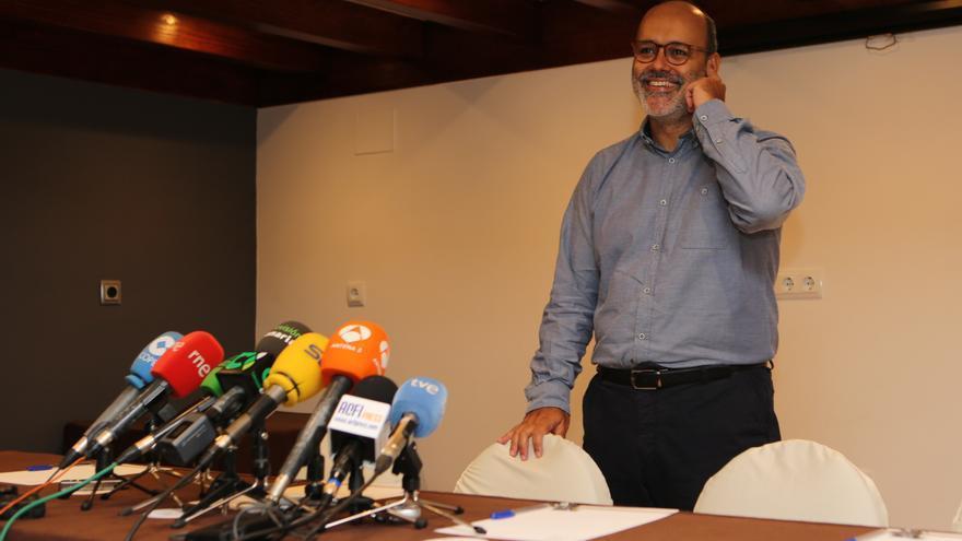 El exvicepresidente del Cabildo de Gran Canaria Juan Manuel Brito