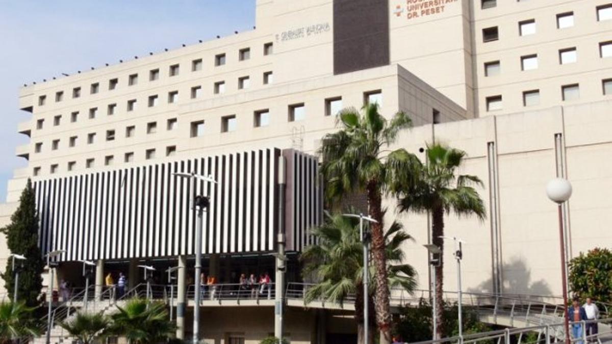 El Hospital Doctor Peset de Valencia.