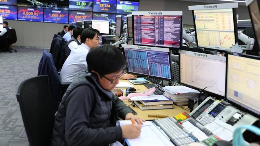 La Bolsa de Seúl sube un 0,03 % en la apertura hasta 2.093,27 puntos