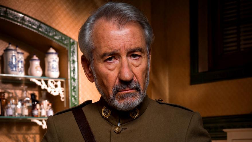 José Sacristan en Tiempos de guerra (Antena 3)