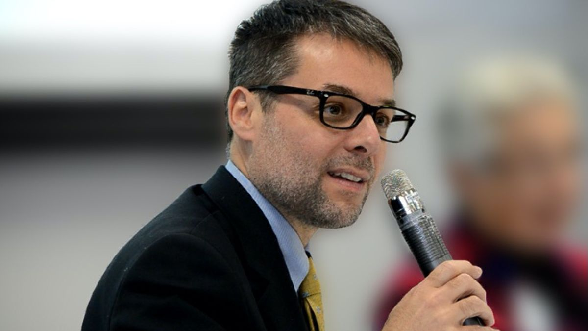 El recononcido historiador Massimo Faggioli.
