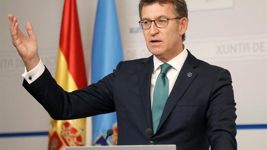 Feijóo dirá a De la Serna que Galicia no está contenta con los plazos del AVE