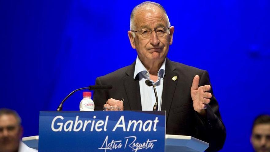 La Audiencia de Almería archiva la causa principal contra Gabriel Amat (PP)