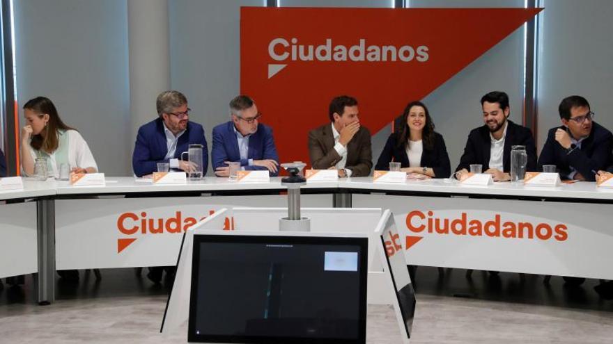 La Ejecutiva de Cs ratifica el veto a Sánchez y vota no abrir una negociación