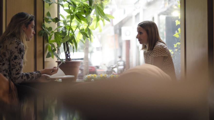 Zahara durante la entrevista con eldiario.es \ Foto: Alejandro Navarro Bustamante