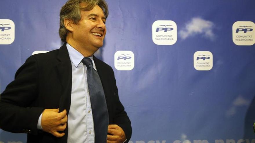 El diputado nacional y presidente de la gestora del PP en Valencia, Rubén Moreno