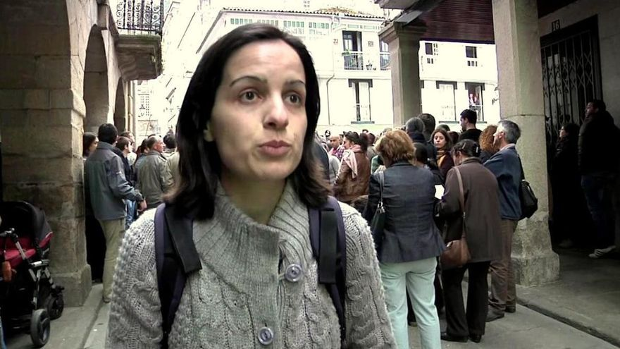 Mónica Arto, representante de los colectivos ecologistas en la junta consultiva del parque natural