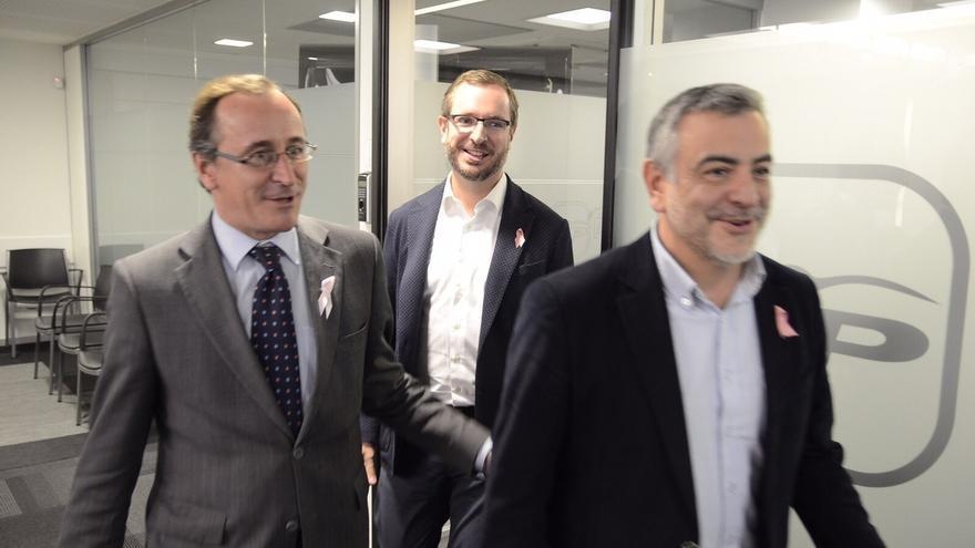 """PP vasco subraya que la designación de Javier De Andrés """"refuerza el papel político"""" de la delegación en Euskadi"""
