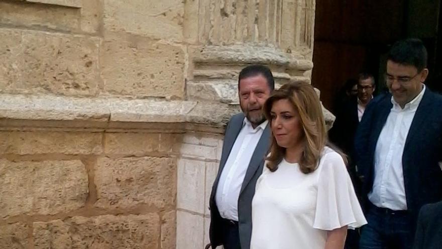"""Susana Díaz acusa al gobierno del PP de liderar """"el frente anti-Andalucía"""""""