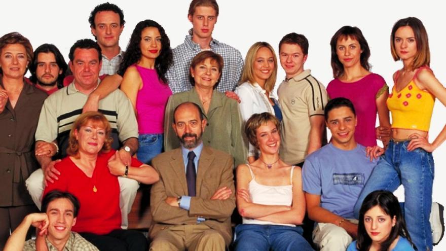 El elenco de 'Compañeros'