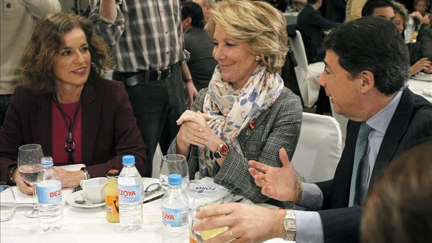 Aguirre dice que los sucesos del Madrid Arena no deben ensombrecer la gestión de Botella