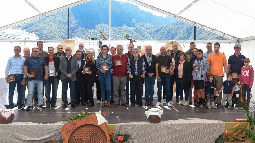 Foto de familia con los premiados en el certamen de este año, en la isla de Gran Canaria