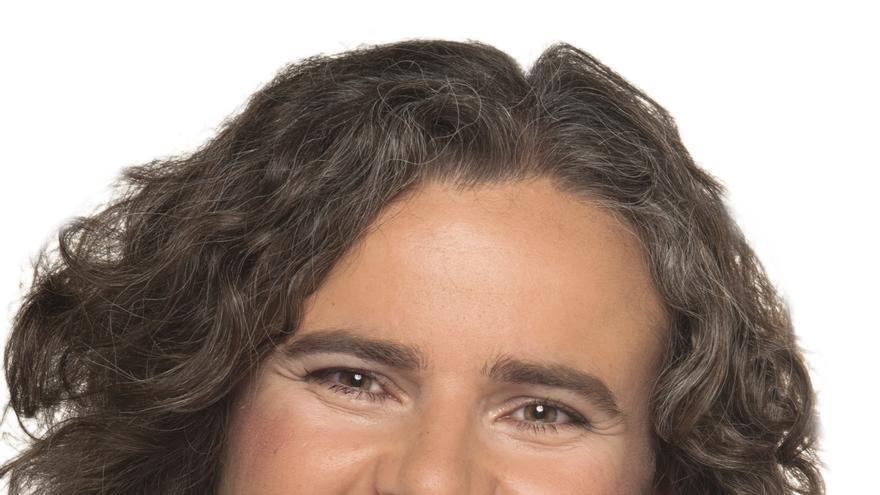 Retrato de Cristina Zurita, que dejará el acta de concejala en La Laguna, de Unidas Se Puede