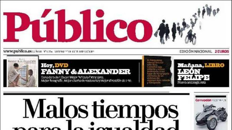 De las portadas del día (22/10/2010) #10