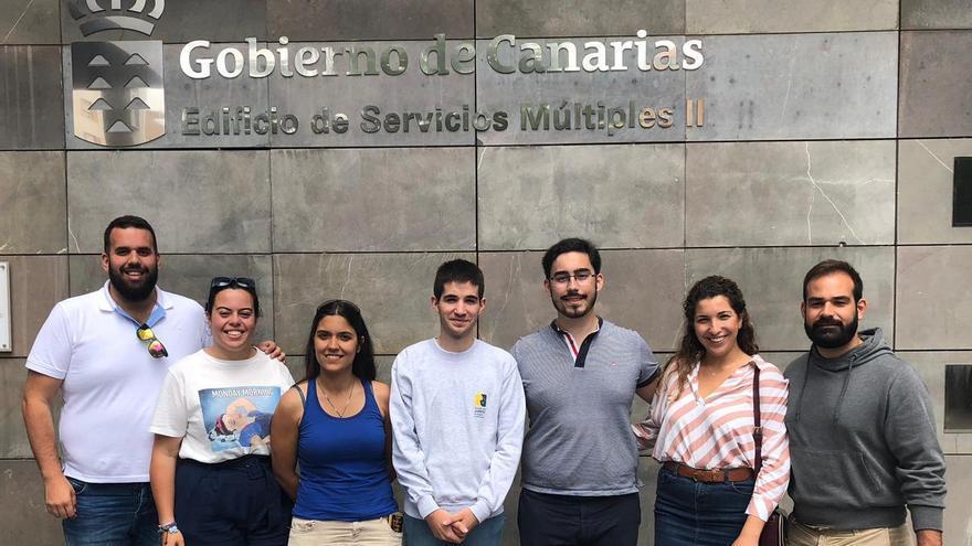 Amador en el CJ Canarias