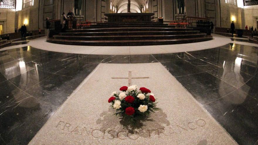 Tumba de Franco en el Valle de los Caídos. EFE
