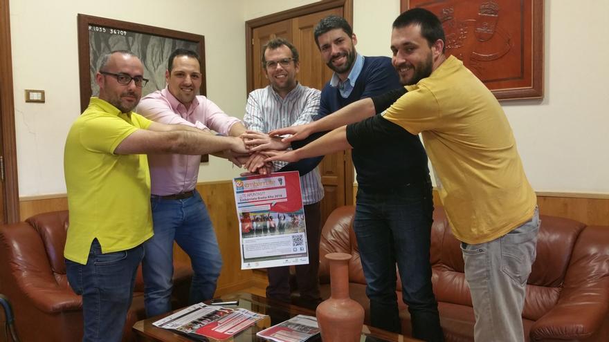 De izquierda a derecha, Raúl Ramos, Jonathan Felipe, Naroe Valls, Daniel Rodríguez y Domingo.